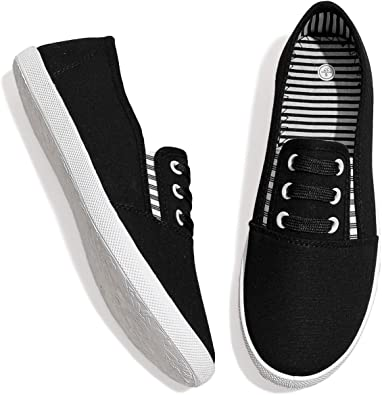 Canvas Slip on Shoes Casual Slip on