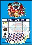 Paw Patrol Tableau de récompense d'apprentissage de la propreté (avec stickers et stylo)