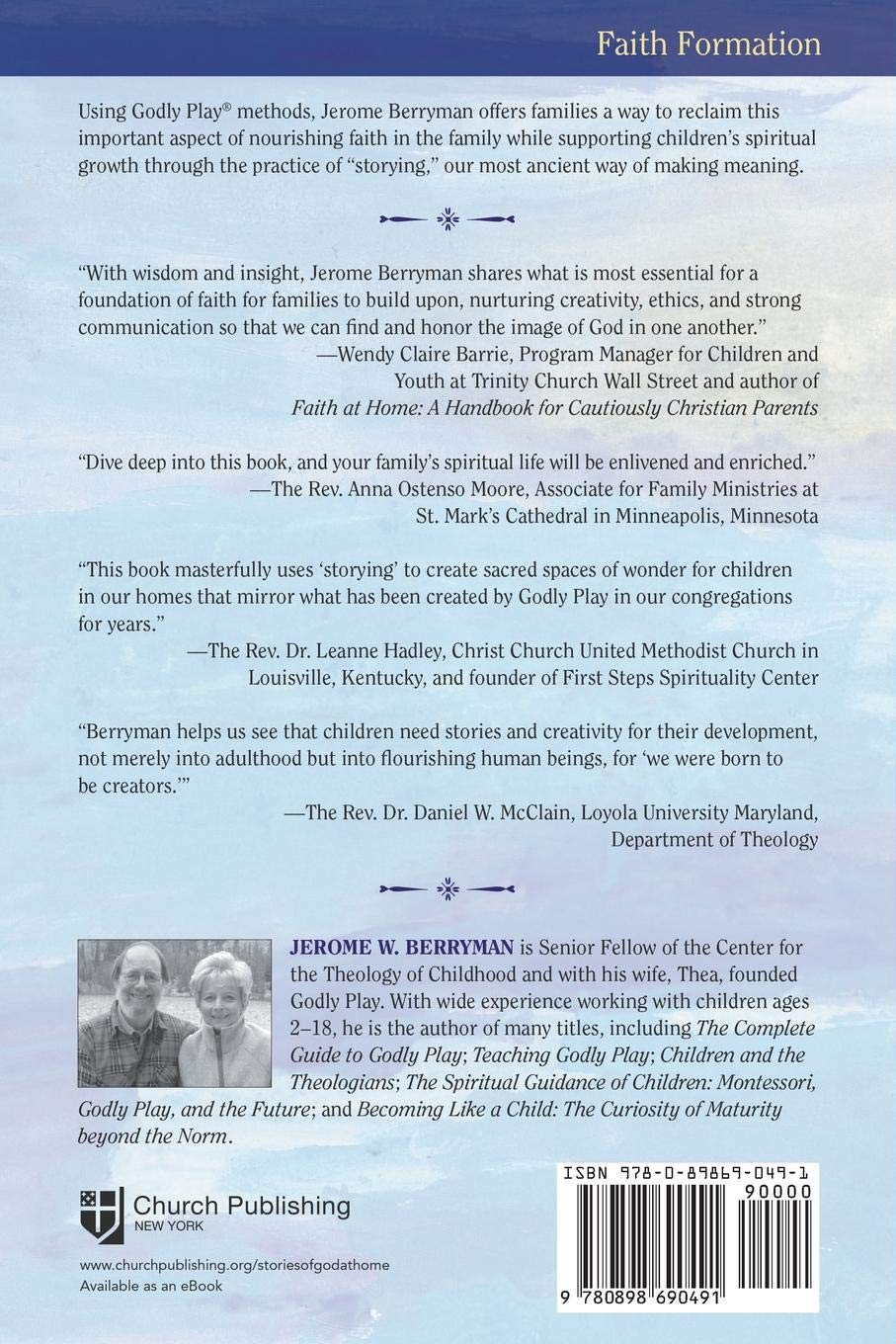 Stories of God at Home: A Godly Play Approach: Jerome W. Berryman:  9780898690491: Amazon.com: Books