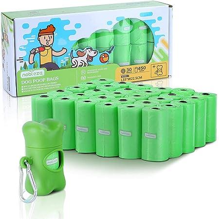 Nobleza - Bolsas de Caca Perro Biodegradable Bolsas para ...