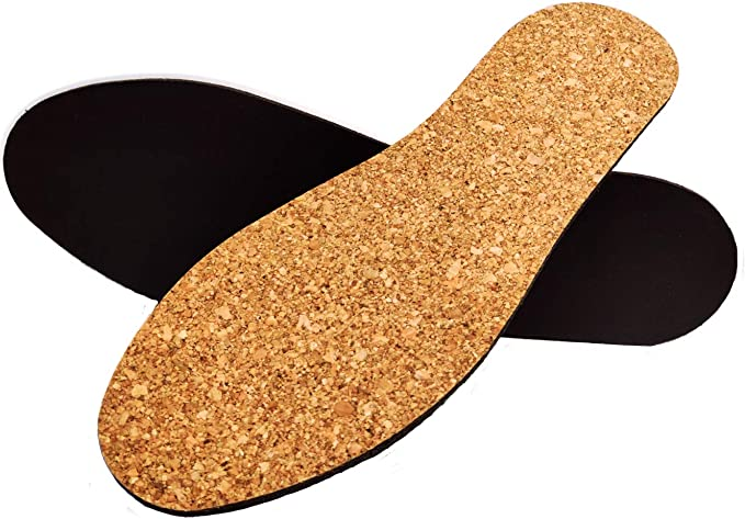 Extra Thick Cork Insoles Orthopaedic Aid Lifts Height Increase Elevator