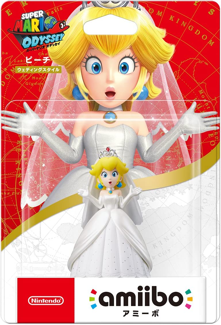 Nintendo Amiibo Peach Rojo, Color Blanco, Amarillo - Figuras de ...
