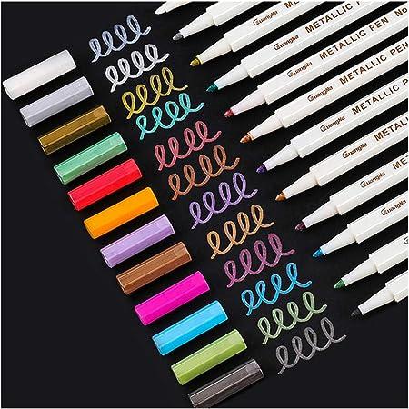 Fine Point Metallic Marker Pens