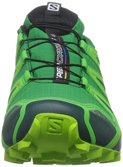 Salomon L38311900, Chaussures de Trail Homme, Multicolore-Vert (Athletic Green X/Peppermint/Granny), 46 2/3 EU