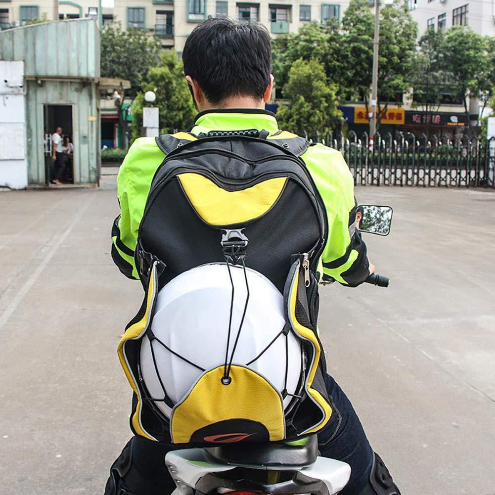 Smartey Waterproof Motorcycle Helmet Backpack Holder Multifunctional Practical Travel Bags Long Distance Moment Knight Backpack