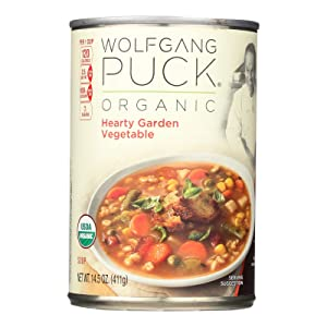 Wolfgang Puck Organic Hearty Garden Vegetable Soup, 14.5-Ounce Cans (Pack of 12) ( Value Bulk Multi-pack)