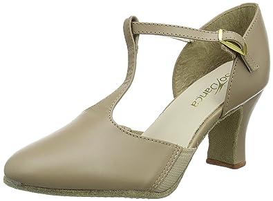 Si Danca Ch57, Chaussures De Danse Moderne Et Jazz, Femmes Beige (tan), 41 Eu