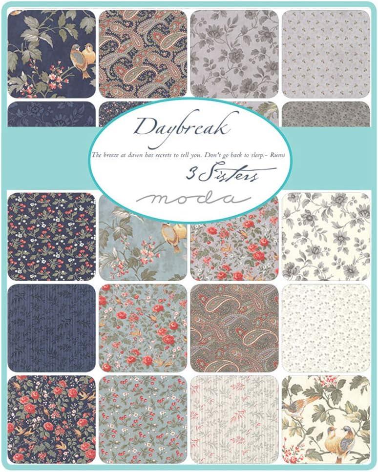 3 Sisters Daybreak Jelly Roll 40 2.5-inch Strips Moda Fabrics 44240JR