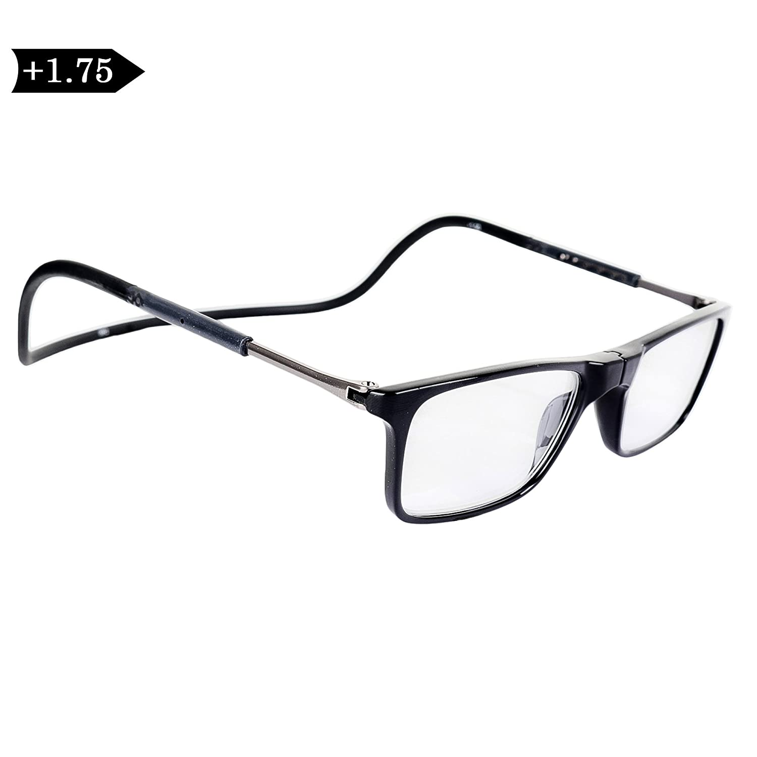 827847800958 IRYZ EYEWEAR Unisex Reading Glasses (Black)- Magneto c1 (1.75 Diopters)   Amazon.in  Health   Personal Care