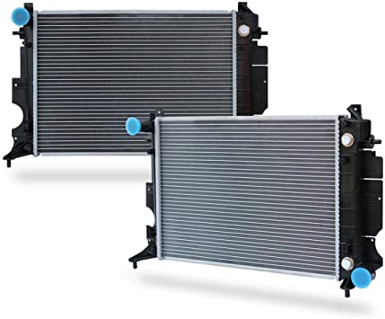 For Saab 900 9-3 Turbo Aluminum Core Radiator Lower /& Upper Coolant Hoses Kit