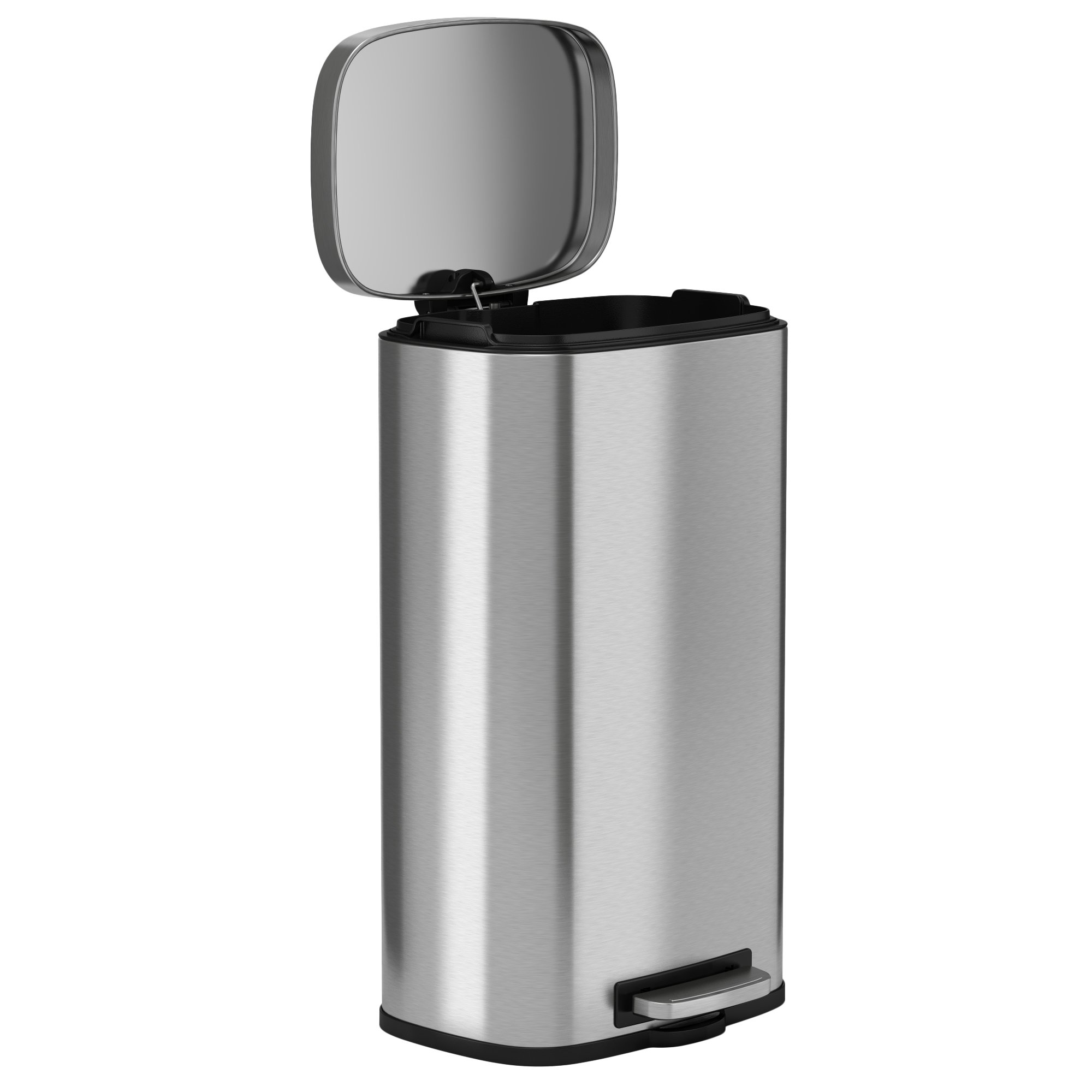 iTouchless SoftStep 8 Gallon Stainless Steel Step Trash Can, 30 Liter Pedal Kitchen Trash Can Perfect for Office, Home and Kitchen by iTouchless (Image #7)