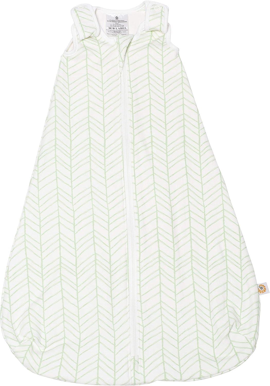 Ergobaby Saco de Dormir Bebe Recién Nacidos en Algodón TOG0.5, Niño Niña 0-6Meses, Bamboo