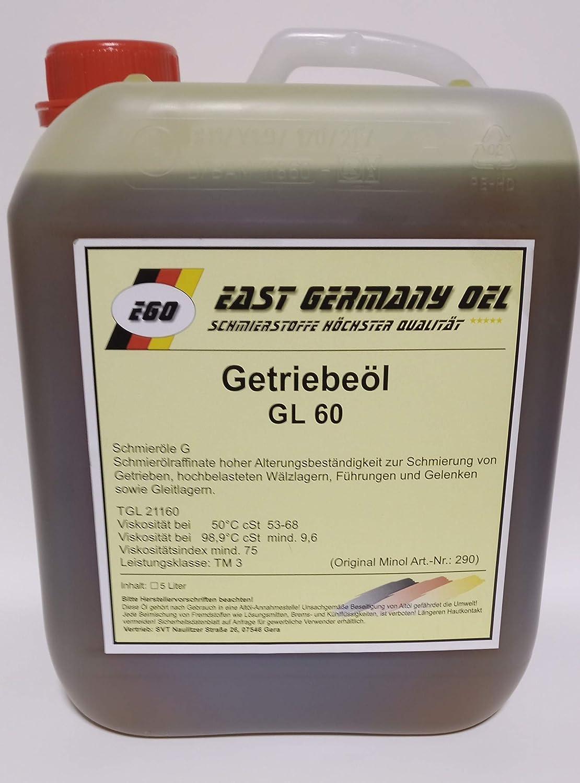 East Germany Oil Getriebeöl Gl 60 Kanister 5 Liter Auto