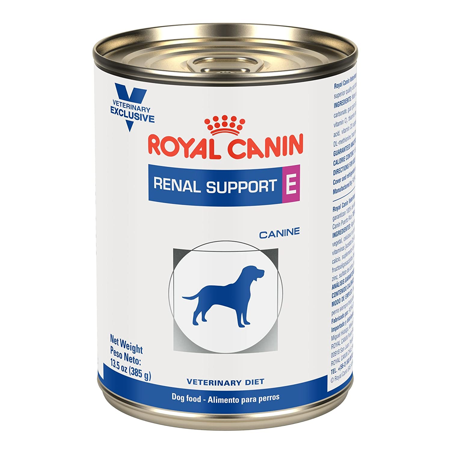 Royal Canin Renal Support E Canned Dog Food 24 13.5oz cans