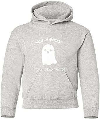Marky G apparel Boys Not A Ghost Just Dead Inside T-Shirt