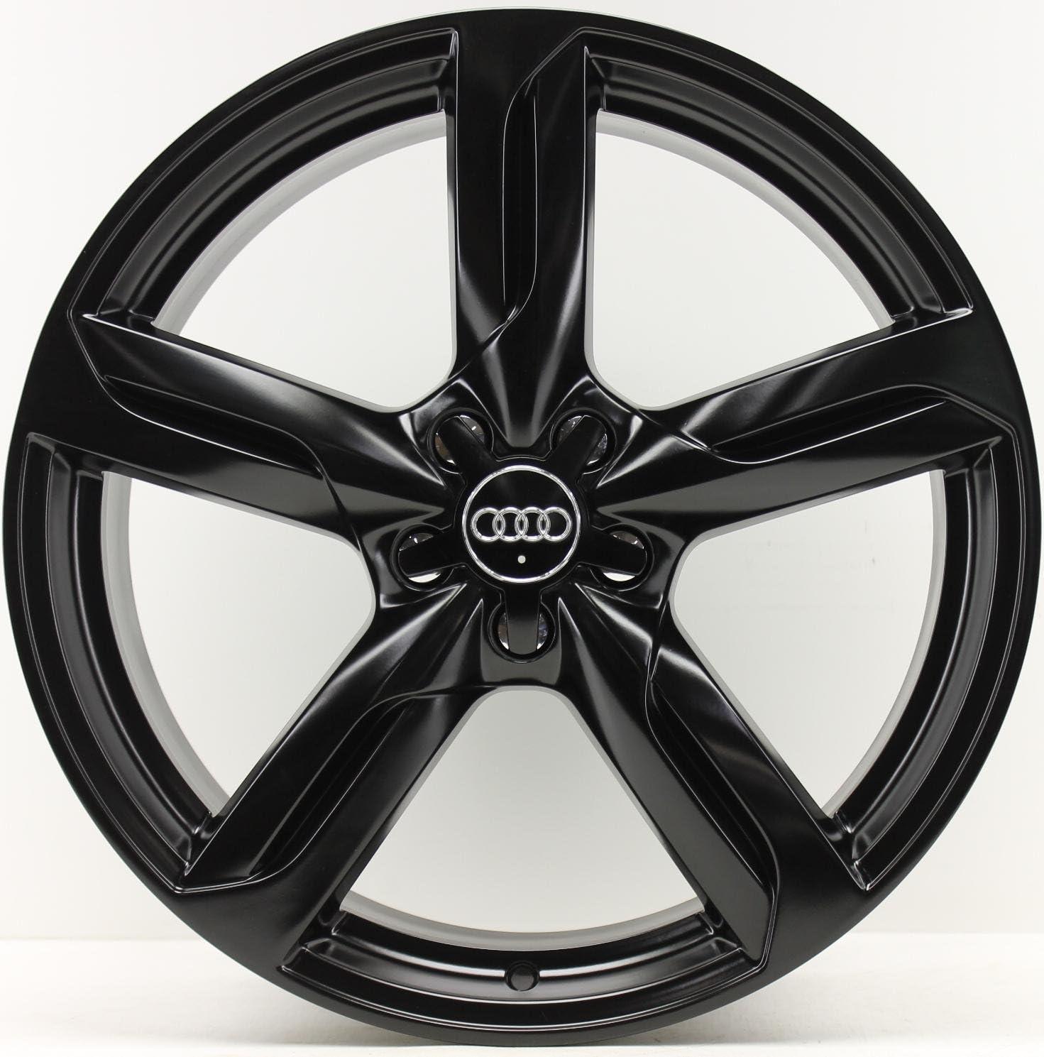 4 Original Audi Q5 SQ5 8R Llantas 8r0601025d 8,5 x 20 ET33 Negro Satinado: Amazon.es: Coche y moto