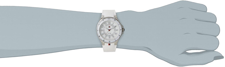 b3b8a5f5ae502a Amazon.com: Tommy Hilfiger 1781271 Ladies White Carley Watch: Watches