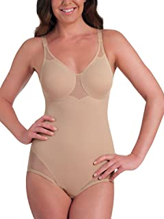 91bacf701 Plusform Firm Control Body Briefer at Amazon Women s Clothing store
