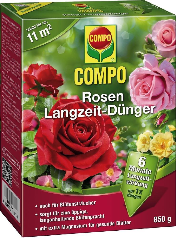 Rosen Langzeit-Dünger COMPO ROSEN-LANG ZEITDÜNG. 850 21574