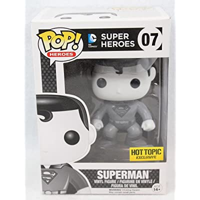 Funko Pop! DC Heroes #07 Black & White Superman: Toys & Games