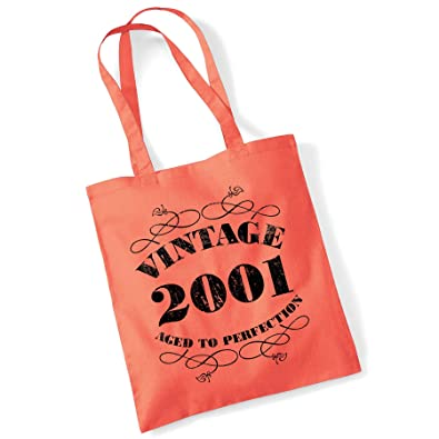 41st Birthday Gift Bag Tote Shopping Limited Edition 1978 Aged To Perfection Mam
