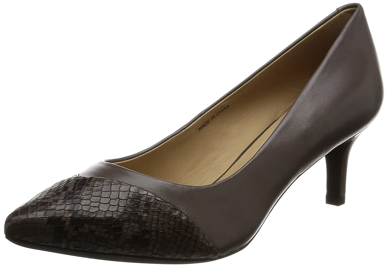 Chaussures � talon, couleur Marron , marque Marron GEOX, talon, modèle couleur Chaussures � Talon GEOX D ELINA Marron Marron 54f4686 - reprogrammed.space