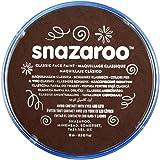 Snazaroo Classic Face Paint, 18ml, Dark Brown