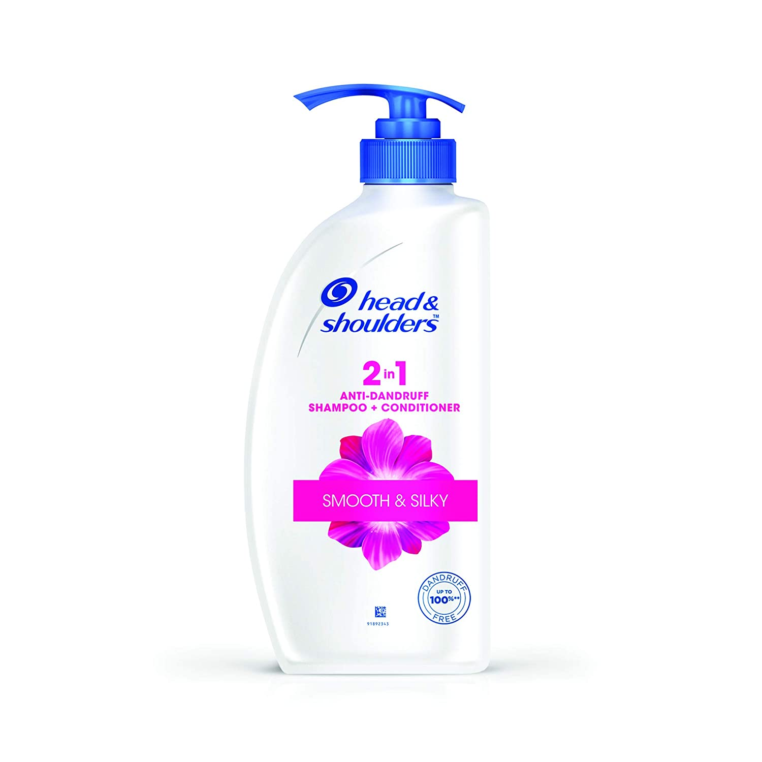 Head & Shoulders 2-in-1 Smooth and Silky Anti Dandruff Shampoo + Conditioner