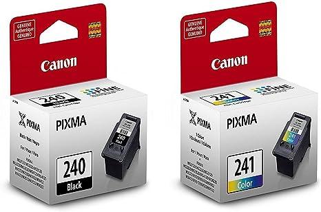 Amazon.com: Canon Pixma PG-240 Negro & CL-241 Color ...