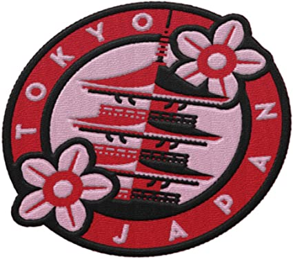 JAPAN PATCH SOUVENIR TRAVEL PATCH IRON ON TO SEW ON AS PICTURED PATCH AP 127