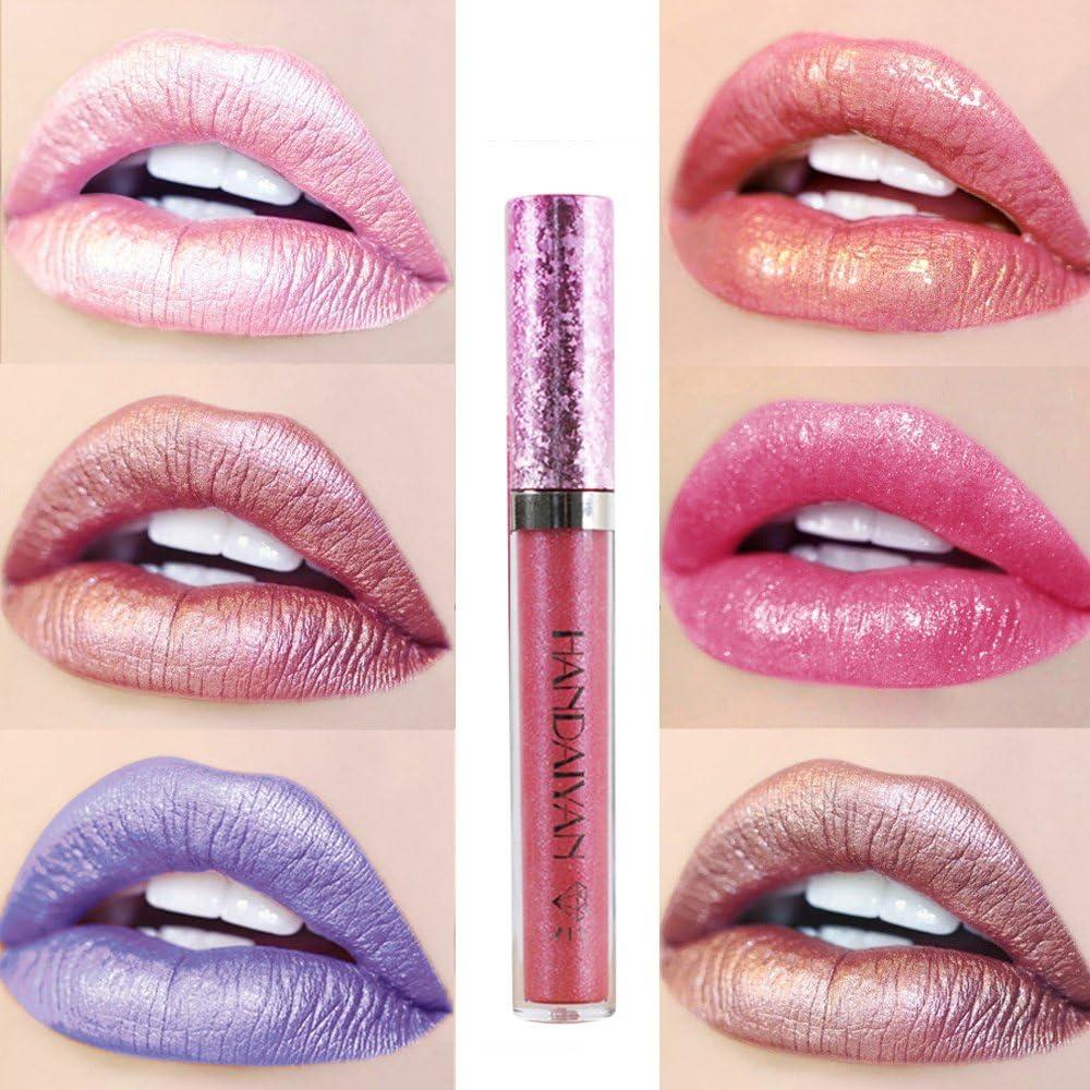 Pintalabios Mate Labial de Maquillaje Profesional Larga Duracion 6 Colores para Niñas por ESAILQ I: Amazon.es: Belleza