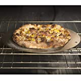 """Pizzacraft PC0307 Round Steel Baking Plate for Oven or BBQ Grill, 14"""" Diameter"""