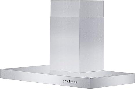 ZLINE 30 pulgadas. Campana de montaje en pared 760 CFM en acero inoxidable (KE-30): Amazon.es: Grandes electrodomésticos