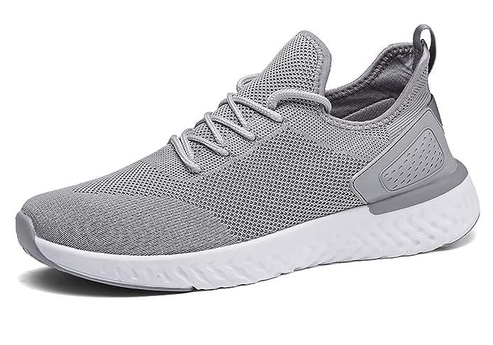 Zapatillas para Correr para Hombres,Zapatos Hombre Deportivos Transpirables Casual Yoga Gimnasio Correr Sneakers