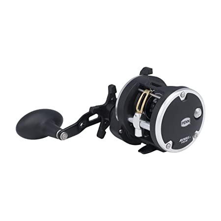 Penn 5.1 1 Gear Ratio 29 Retrieve Rate Rival Level Wind Conventional Clam Package 15 Reel, Right Hand