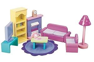 Le Toy Van Dollhouse Furniture & Accessories, Sugar Plum Sitting Room