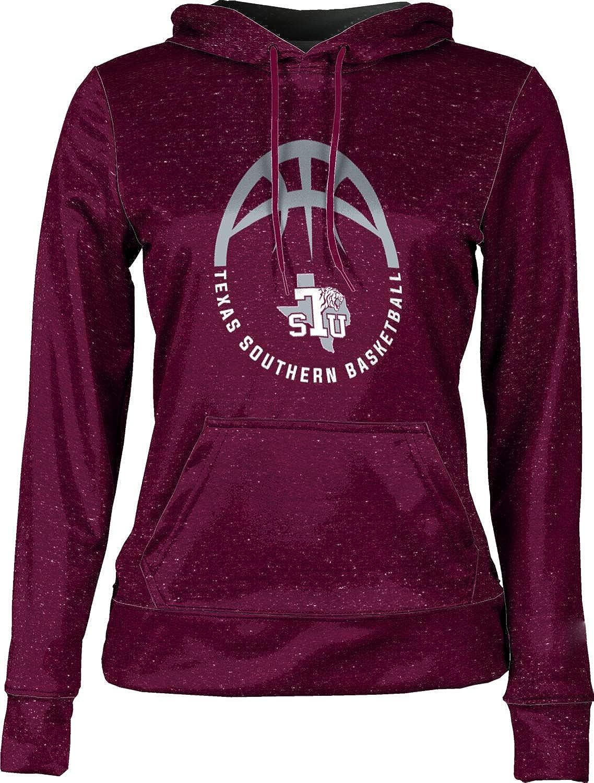 School Spirit Sweatshirt ProSphere Texas Southern University Basketball Girls Pullover Hoodie Heather