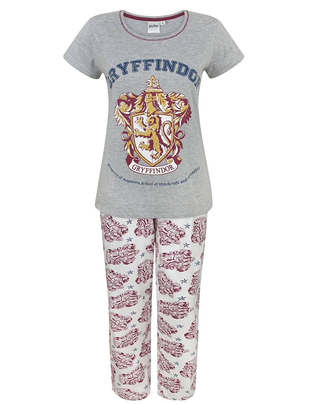 Harry Potter Gryffindor Women's Pyjamas Aykroyds