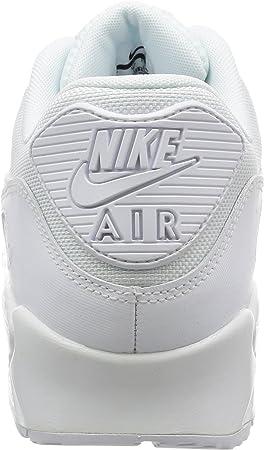 Nike Air Max 90 Essential - Zapatillas de running, Hombre, Blanco (White / White-White-White), 46