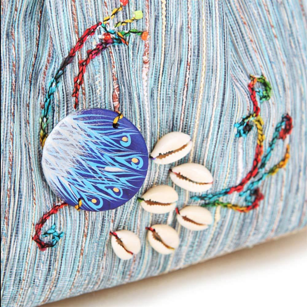 LZH Frauen Handtasche Bestickt Ethnische Frauen Umhängetasche Umhängetasche Umhängetasche Größe 20  15  7 cm B07J2KDCFH Shopper Qualitätskönigin 8655a3