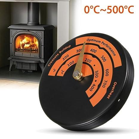 Magnético horno termómetro, rápida lectura medidor de temperatura del horno de aleación de aluminio estufa