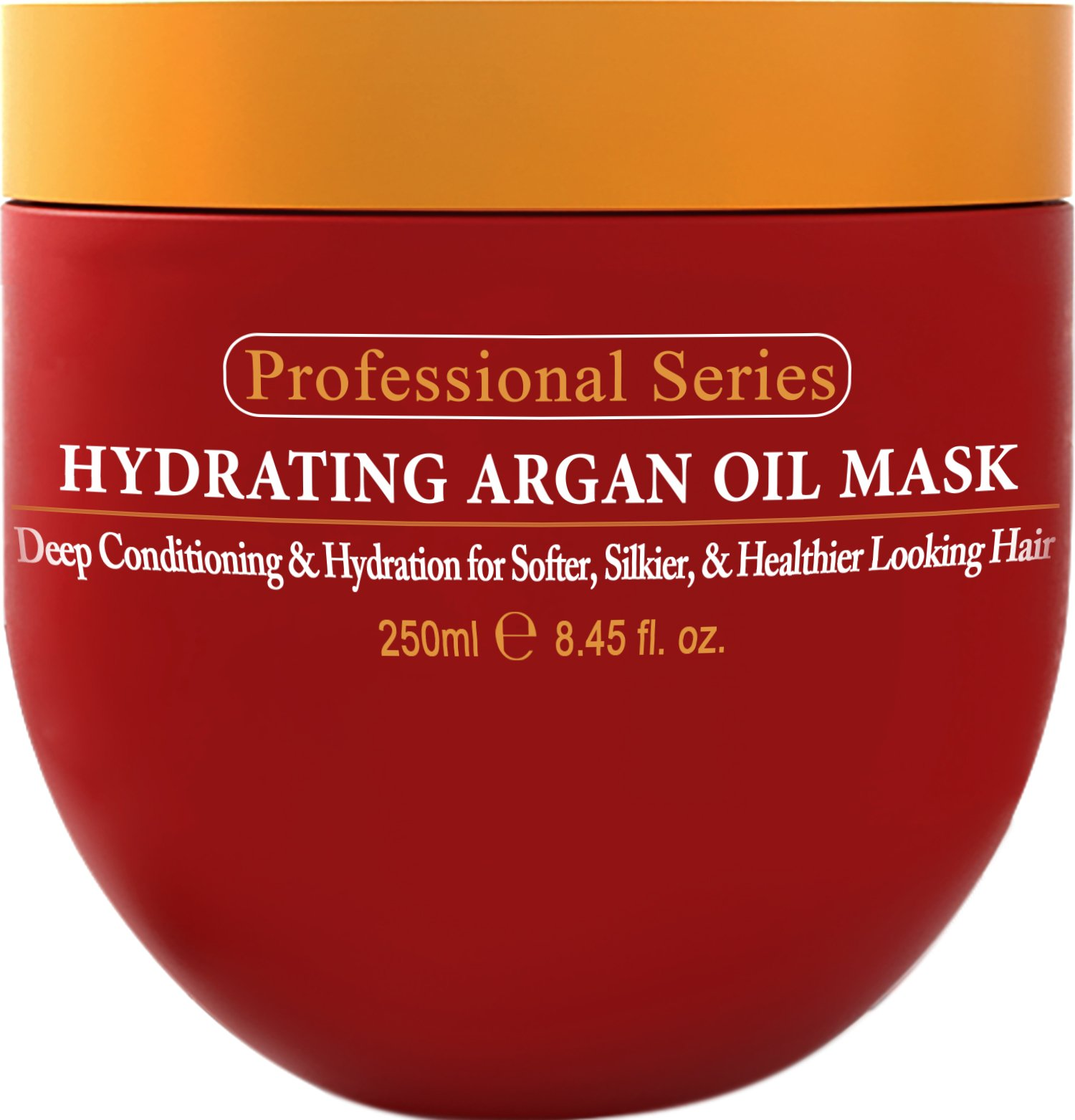 Hydrating Argan Oil Hair Mask and Deep Conditioner By Arvazallia for Dry or Damaged Hair - 8.45 Oz by Arvazallia