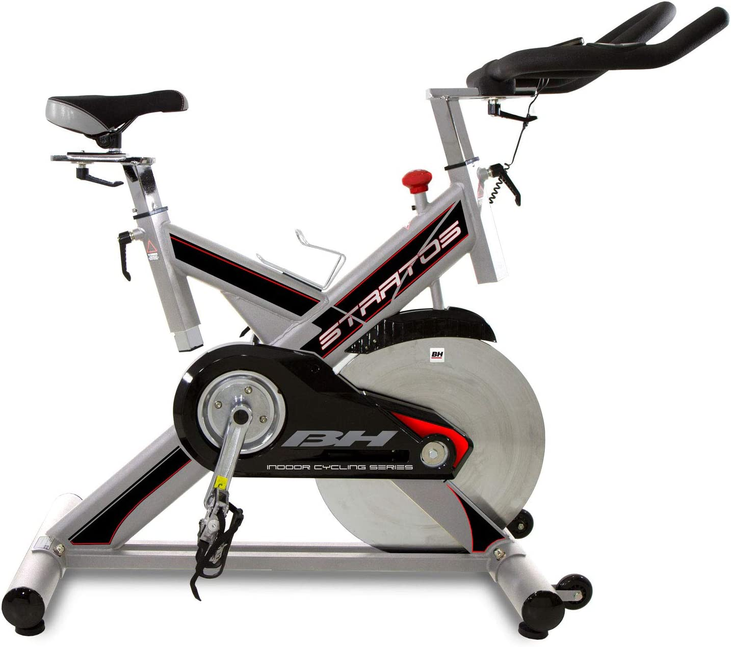 BH Fitness - Bicicleta Indoor Stratos: Amazon.es: Deportes y aire ...