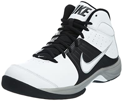 Nike The Overplay VI White Black New Mens Basic Basketball Shoes 443456-100   US 0f56aed6b