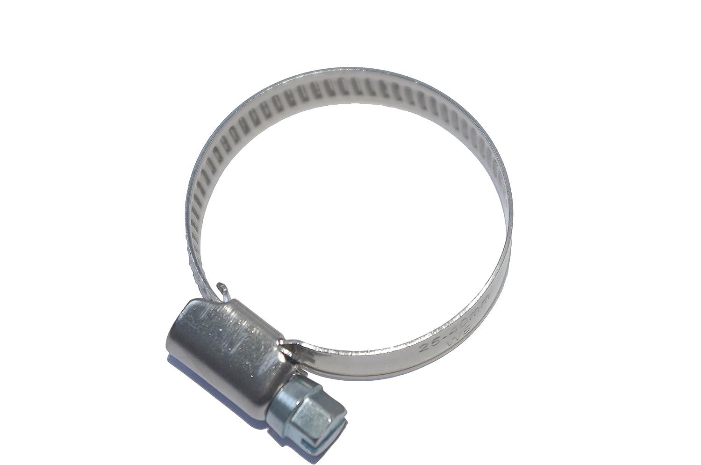 /Ø Diff/érentes Tailles 16-25mm Bande 9mm tuyau attache vis Collier De Serrage inox A4 Lot de 5