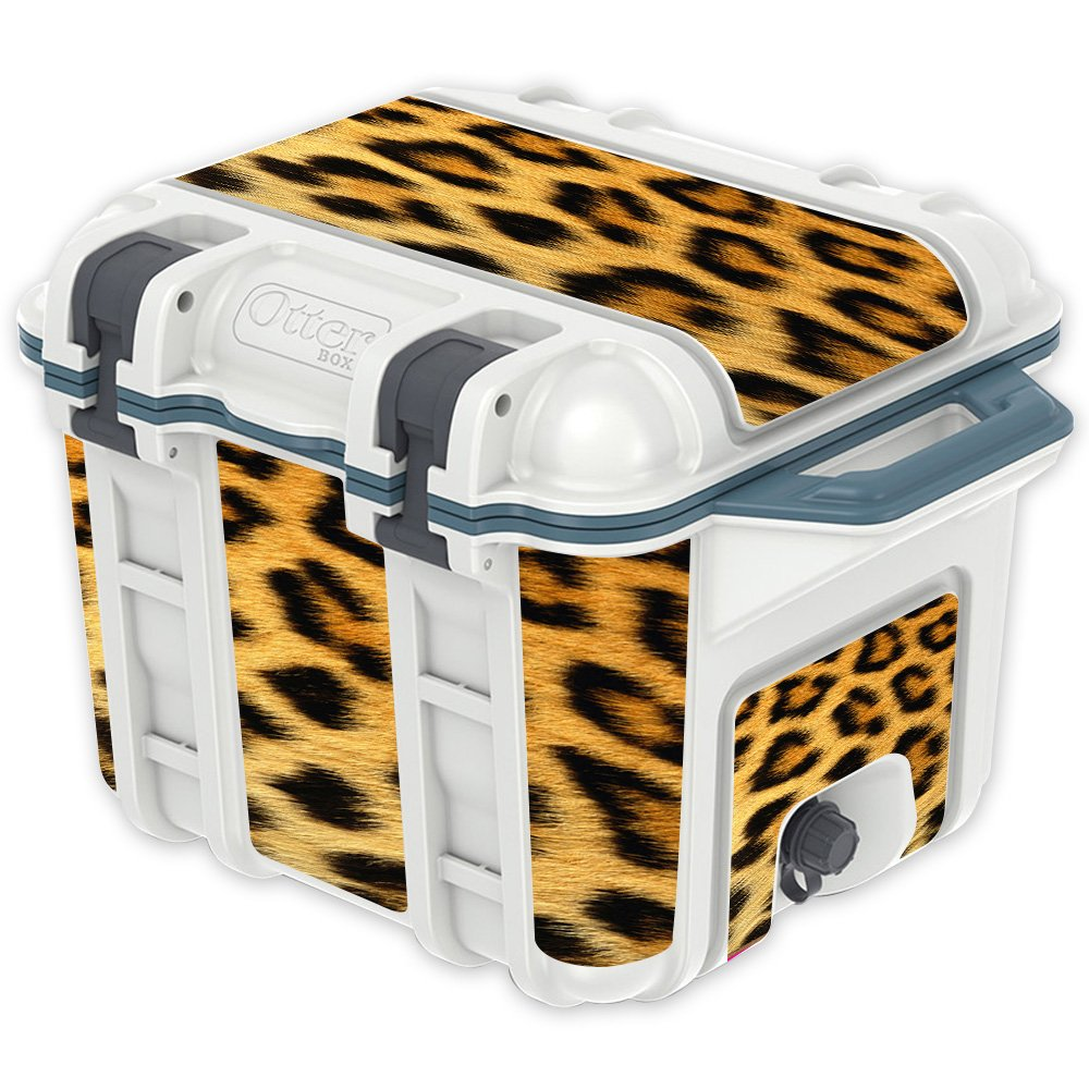 Cheetah OtterBox Venture 25 qt Cooler MightySkins Skin Compatible with OtterBox Venture 65 qt Cooler  Pink Leopard   Predective, Durable, and Unique Vinyl Decal wrap Cover   Easy to Apply, Remove, and Change Styles   Made in The USA