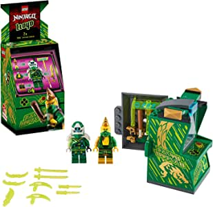 LEGO NINJAGO Lloyd Avatar - Arcade Pod 71716 Mini Arcade Machine Building Kit