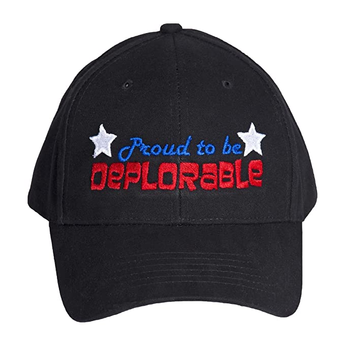 90259f41df1 Charlie Delta Tactical Proud to Be Deplorable Embroidered Low Profile Baseball  Cap