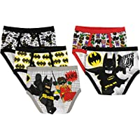LEGO Boys Batman 5-Pack Brief Briefs - Multi