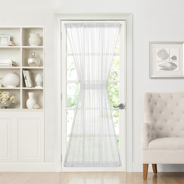 Door Window Curtains Amazon Com: Rod Pocket Door Sheer Curtains: Amazon.com
